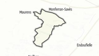Карта / Frégouville