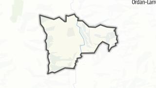 Карта / Le Brouilh-Monbert