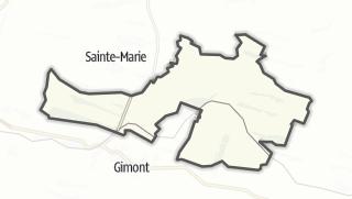Карта / Escorneboeuf
