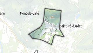 Térkép / Lourde