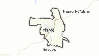Карта / Mirande