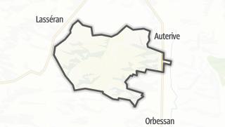 Карта / Lasseube-Propre