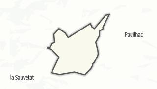 Карта / Lamothe-Goas