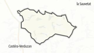 Карта / Larroque-Saint-Sernin
