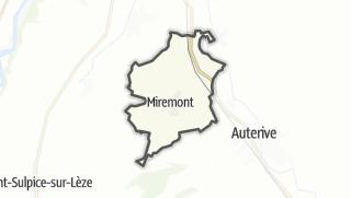 Térkép / Miremont