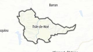 Карта / L'Isle-de-Noé