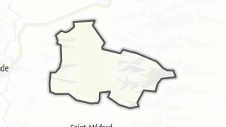 Карта / Idrac-Respaillès