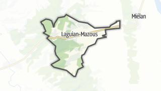 Карта / Laguian-Mazous