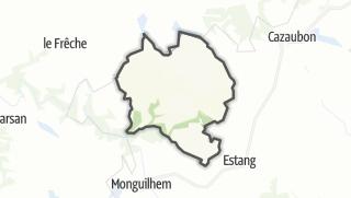 Карта / Mauléon-d'Armagnac