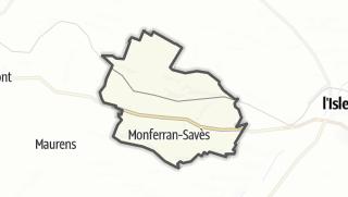 Карта / Monferran-Savès