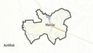 Карта / Marciac