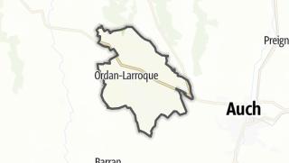 Карта / Ordan-Larroque