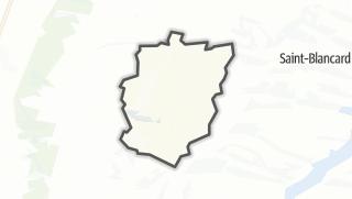 Карта / Manent-Montané