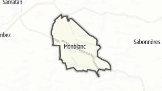 Карта / Monblanc