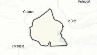 Térkép / Caubiac