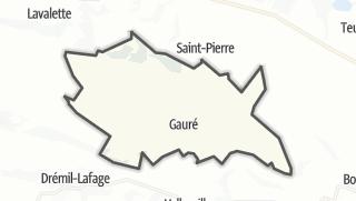 Térkép / Gauré