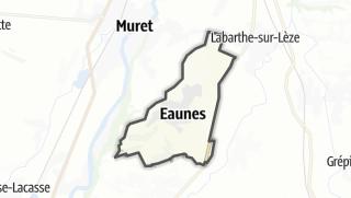Térkép / Eaunes