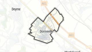 Térkép / Donneville