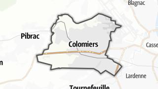 Térkép / Colomiers