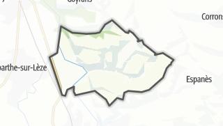 Térkép / Clermont-le-Fort