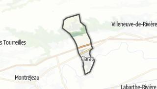 Térkép / Clarac
