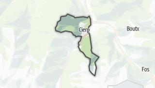 Térkép / Cierp-Gaud