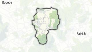 Térkép / Castelbiague