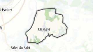 Térkép / Cassagne