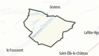 Térkép / Marignac-Lasclares