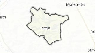 Térkép / Latrape