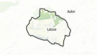 Térkép / Latoue