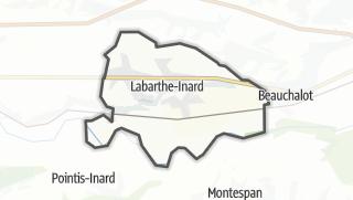 Térkép / Labarthe-Inard