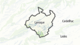 Térkép / Larroque
