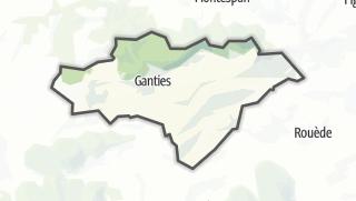 Térkép / Ganties