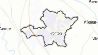 Térkép / Fronton