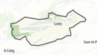 Térkép / Lodes