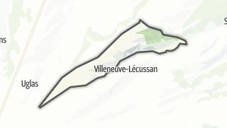 Térkép / Lécussan