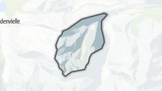 Térkép / Gouaux-de-Larboust