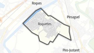 Térkép / Roquettes