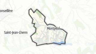 Térkép / Montpitol