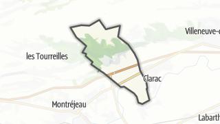 Térkép / Ponlat-Taillebourg