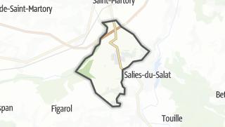 Térkép / Montsaunès