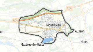Térkép / Montréjeau