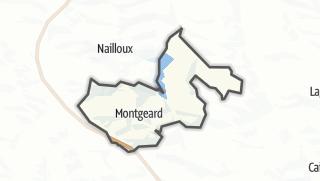 Térkép / Montgeard