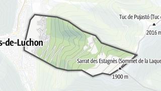 Térkép / Montauban-de-Luchon