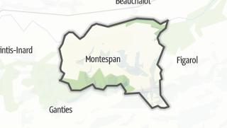 Térkép / Montespan