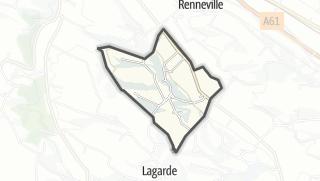 Térkép / Montclar-Lauragais