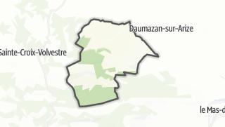 Térkép / Montbrun-Bocage