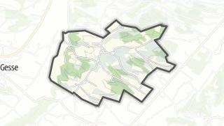 Térkép / Mondilhan