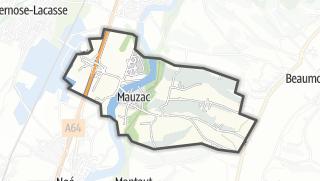 Térkép / Mauzac